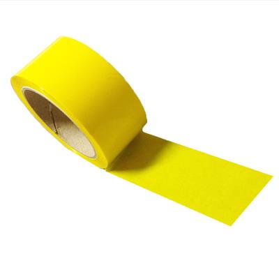 Adhesive printed Yellow Tape