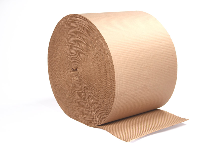 Corrugated Paper Roll 650mm Wide X 75m Length Johnson