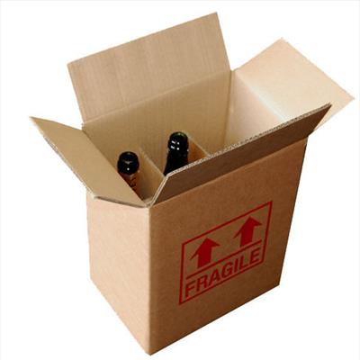 6 Bottle Wine Box