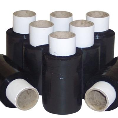 Stretch Wrap Mini-Rolls Black