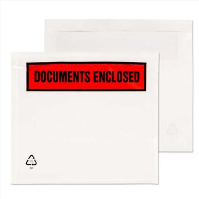 Document Enclosed Wallets A7 Documents Enclosed