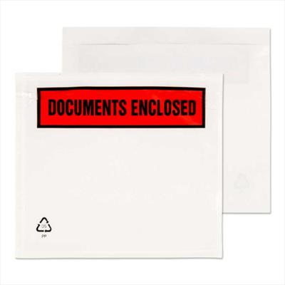 Document Enclosed Wallets A6 Documents Enclosed